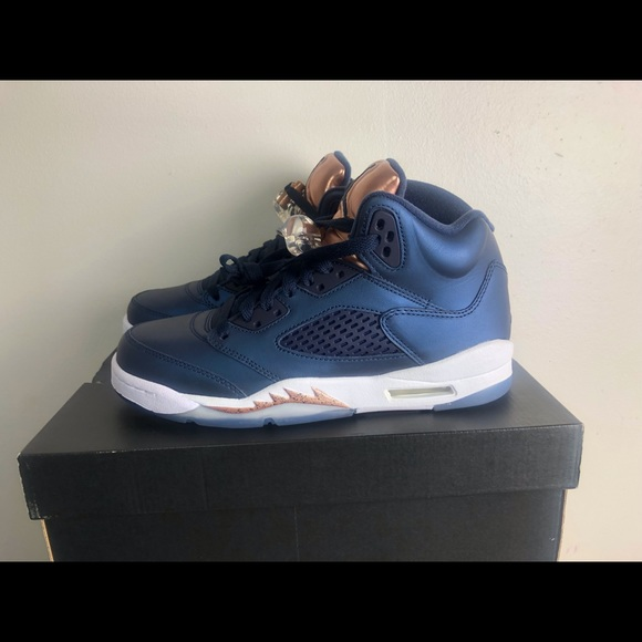 "wholesale dealer 13f84 73850 Air Jordan Retro 5 V ""OBSIDIAN Bronze"" GS"